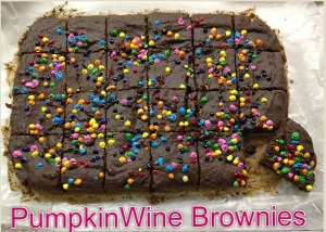 PumpkinWineBrownies