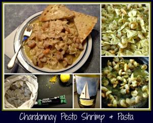 ChardonnayPestoShrimp&Pasta