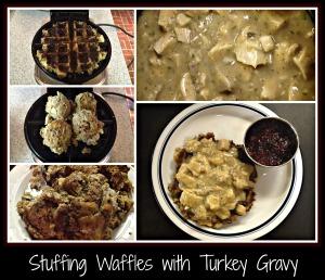 StuffingWaffles&TurkeyGravy