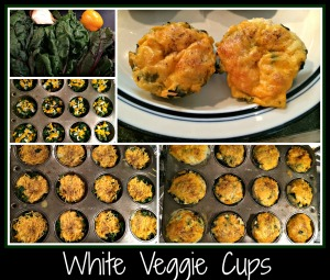 WhiteVeggieCups